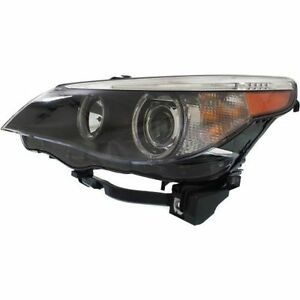 New Headlight (Driver Side) for BMW 525i BM2502124 2004 to 2007
