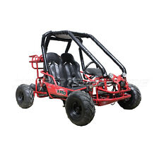 X-PRO Blast 110cc Go Kart Full Auto Transmission Reverse Remote Control Burgundy