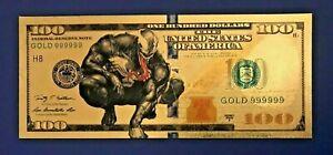 The Avengers VENOM Gold $1 Million Banknote Marvel Super Heroes