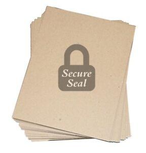 Pick Quantity 1-200 8.5x11 Chipboard Pads THICK Sturdy 30PT .030 Scrapbook Sheet