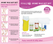 Roll On Home Waxing Kit, 6-in-1 Body Waxing Kit for Hair Removal with Wax Heater