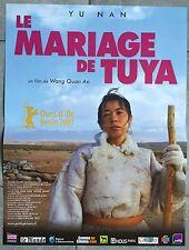 Affiche LE MARIAGE DE TUYA Quan'an Wang NAN YU 40x60cm *