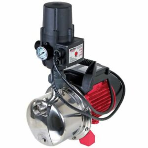 WALTER Hauswasserautomat 1100W Gartenbewässerung, Hauswasserversorgung