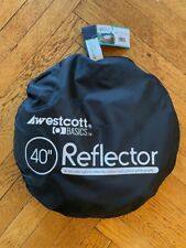 "Westcott 5-in-1 Reflector Disc - 40"", Very Good With Tag, Photography equipment"