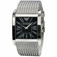 Emporio Armani AR2012 Classic Black Dial Stainless Steel Men's watch new