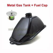 Metal Gas Tank + Fuel Cap For 50cc 70cc 110cc 125cc ATV Quad 4 Wheeler Go Kart