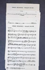 Roger Payne: Dance Sequence (Music Score Parts)