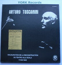 DR 10004/5 - ARTURO TOSCANINI - Reconstruction Teatro Scala 2 LP Record Box Set