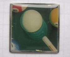 POOL BILLARD / KUGELN / CUE  / SNOOKER  ................. Sport Pin (159f)