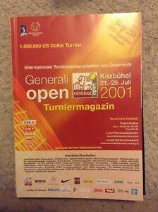 2001 Generali Open Programme: Men's Tennis: ATP
