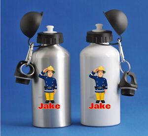 Fireman Sam - Personalised Kids/Drinks/Sports Childrens Water Bottle