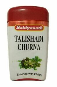 Baidyanath Talishadi Churna 60gm for Cough, Cold, Bronchitis ,Vomiting, Fever