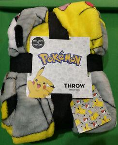 Pokemon Pikachu Throw Very Soft 120cm x 150cm Official Nintendo BNWT