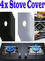 4 x Stove Cover Top Cooker Cover Protector Range Liner Non Stick Gas Mat