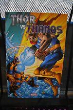 Thor vs Thanos Complete Marvel Deluxe TPB BRAND NEW RARE OOP Loki Odin Asgard