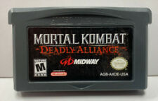 Mortal Kombat Deception Nintendo GameBoy Advance GBA Cartridge Only Authentic