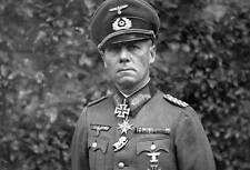 WWII B&W Photo Field Marshal Erwin Rommel  WW2 World War Two Germany  / 2024