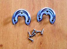 Fissaggi attacchi per cinghie fisarmonica + viti. Accordion straps supporto 2 pc