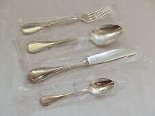 WMF Perlrand Silberbesteck Messer Gabel Löffel Kaffeelöffel 90 Silber NEU mehrer
