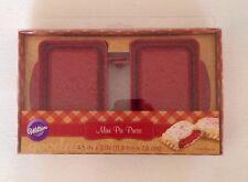 Wilton Mini Pie Press Popover Tart Rectangle Filled Baked Pastry Pocket Mold NEW