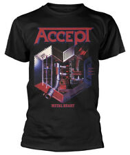 Accept 'Metal Heart' (Black) T-Shirt - NEW & OFFICIAL!