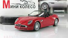 Scale car 1:43,  Alfa Romeo 8C Spider, Supercar