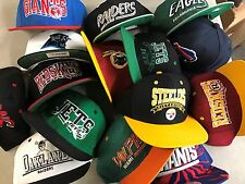 US lot of 15 NEW closeout Wholesale mens NFL snapbacks hats caps assort/mix osfa