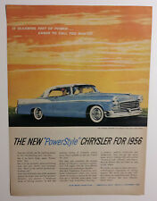 1956 Chrysler Windsor Newport Hemi Ad - Must See !!