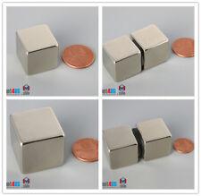 N52 34 1 Cube Rare Earth Neodymium Super Strong Block Magnets