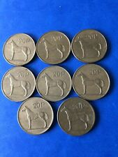 Irish Decmial 20p Coin X 8