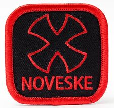 NOVESKE Logo Patch - Hook & Loop Backing