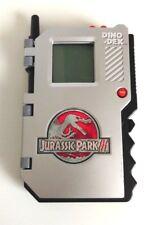 Jurassic Park 3 JP III Dino Dex Hasbro 2001 Tiger Electronics - Rare