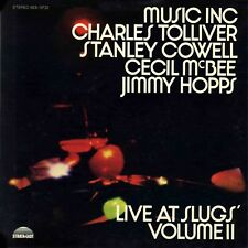 MUSIC INC. Live At Slugs Volume 2 Charles Tolliver STRATA-EAST Sealed Vinyl LP
