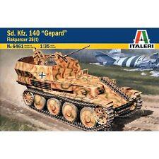 ITALERI 6461 SDKFZ 140 Gepard Flakpanzer 38 (t) 1/35 Scale Model Kit