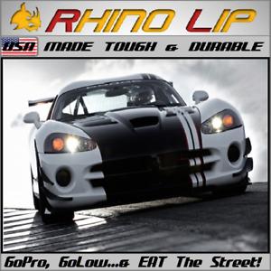 LOTUS Dodge-EV Tesla~Roadster Venom~GT SST Spoiler Splitter Rubber Chin Lip Trim