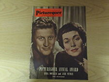 March 1952, PICTUREGOER, Kirk Douglas, Jane Wyman, Katherine Hepburn, Pat Roc.