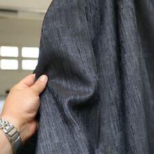 Jacquard Segel Gardinen-Stoff 248cm breit Blickdicht Meterware Sonnenschutz
