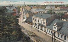 Ansichtskarte Tschechien  Oderberg Bahnhof  Novy Bohumin  Stephanleitstraße