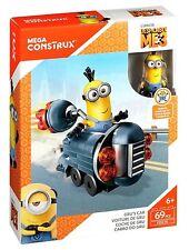 New Despicable Me 3 Mega Construx FDX76 Grus Car with Minion, Age 6+, 69 Pieces