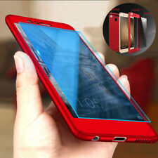 360° Full Cover Slim Case+Tempered Glass For Huawei P8 P9 P10 Mate10 Lite Honor9