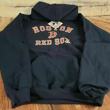 Stitches Boston Red Sox MLB Hoodie Sweatshirt Boys Size XL Blue Womens S / M NWT
