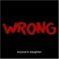"""ANYONE`S DAUGHTER """"WRONG"""" LIMI.SLIPCASE CD+2TRACK NEW+"""