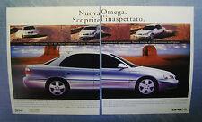 AUTO2000-PUBBLICITA'/ADVERTISING-2000- OPEL OMEGA