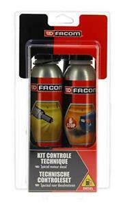 Facom 006020 Kit Contrôle Technique Diesel 2X300 ml - Nettoyant injection