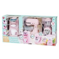 PlaygoPink Gourmet Kitchen Appliances 3pc set Coffee Maker/Mixer/ Blender
