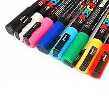 Uni Posca PC-3M Peinture Marqueur Art stylos-Pack de 8-Bullet Tip