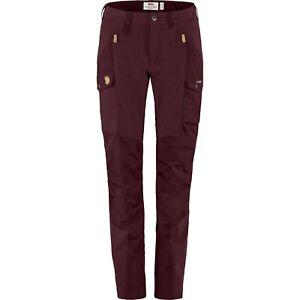 Women's Fjällräven Fjallraven Nikka Trousers Dark Garnet Size EU 42 Pants €180