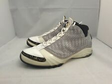 "2007 Air Jordan 23 (XXIII) ""White Stealth"" Sneakers Men's Size 11.5 (318376-102)"