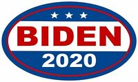 "Biden for President Oval 5"" x 3"" Political Bumper Sticker for your vehicle BIDEN"