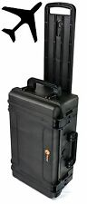 Elite EL2007W Carry On Waterproof Case w/Foam For Camera Video Equipment luggage